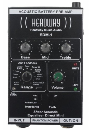 Headway Headway EDM-1 Acoustic Preamp