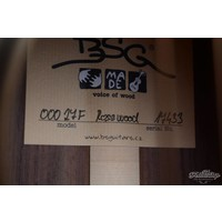BSG 00027F 12 fret Rosewood European spruce