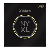D'Addario NYXL0946 Nickel Wound Super Light Top / Regular Bottom 09-46