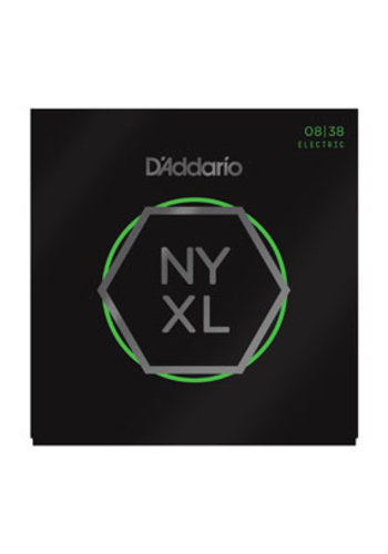 D'Addario D'Addario NYXL0838 Nickel Wound Extra Super Light 08-38