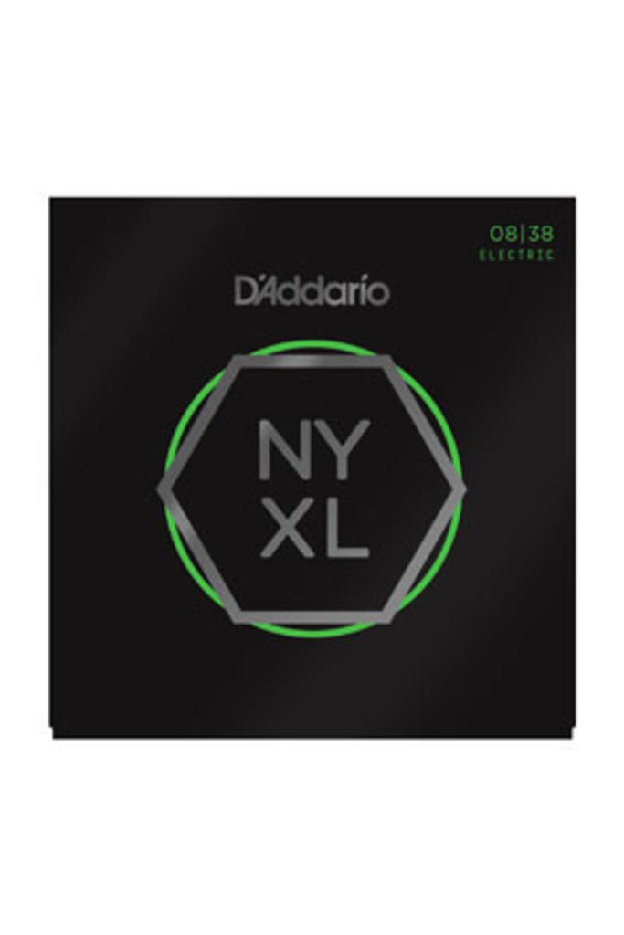 D'Addario NYXL0838 Nickel Wound Extra Super Light 08-38