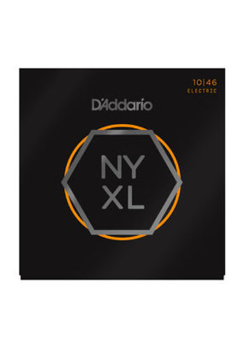 D'Addario D'Addario NYXL1046 Nickel Wound Super Light Top / Regular Bottom 10-46
