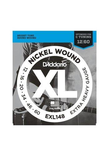 D'Addario D'Addario EXL148 Nickel Wound Electric Guitar Strings Extra Heavy Gauge 12 - 60