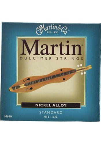 Martin Strings Martin Dulcimer Snaren M640 Nickel