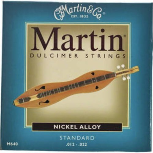 Martin Strings Martin Dulcimer Snaren M640 Nickel
