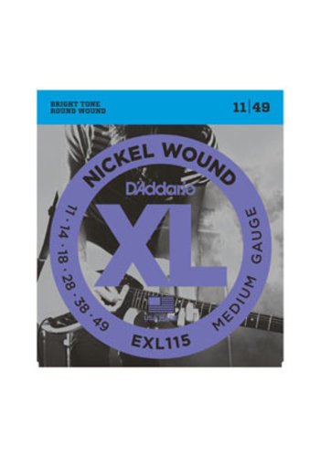 D'Addario D'Addario EXL115 Nickel Wound Medium 11-49