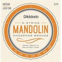D'addario Mandolin EJ74 Medium Phosphor Bronze 11-40