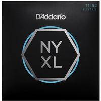 D'Addario NYXL1152 Nickel Wound Electric Guitar Strings 11-52 Medium Top/Heavy Bottom