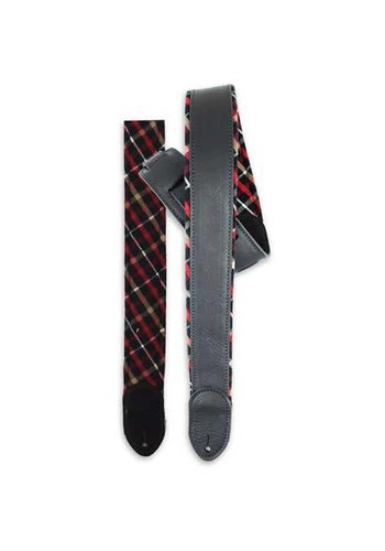 LM Straps LM Straps Cabin Fever Black Brown Flannel Reversible