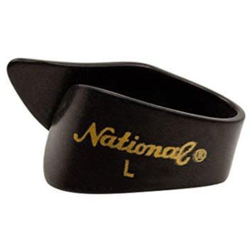 National National Thumb Pick Black Large