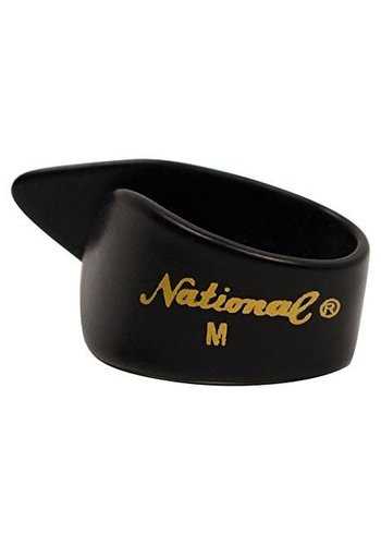 National National Thumb Pick Black Medium