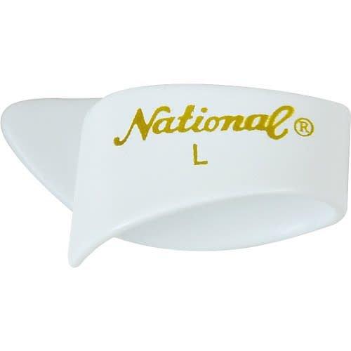 National National Thumb Pick White Large