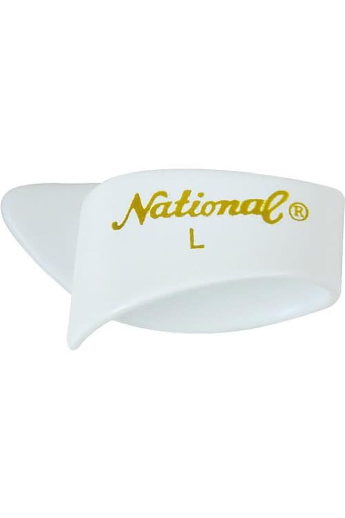 National Thumb Pick White Large