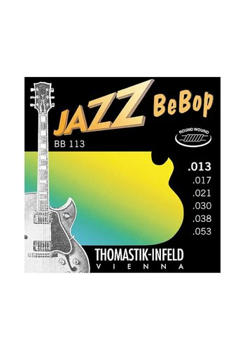 Thomastik-Infeld Jazz BeBop .013- .053 Thomastik Infeld BB113 round wound Electric Guitar Strings