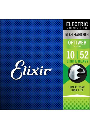 Elixir Elixir 19077 Electric NPS Optiweb Light / Heavy 10-52