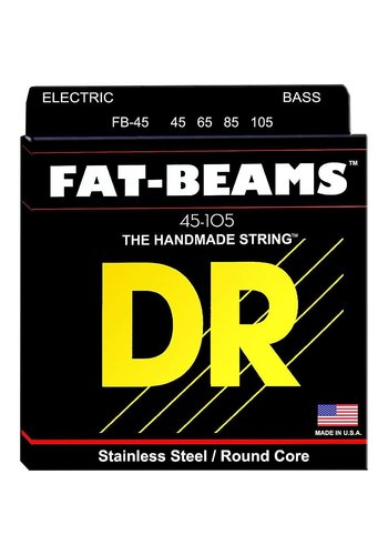 DR Strings DR Strings FB45 Fat-Beams Bass Strings Medium 45-105
