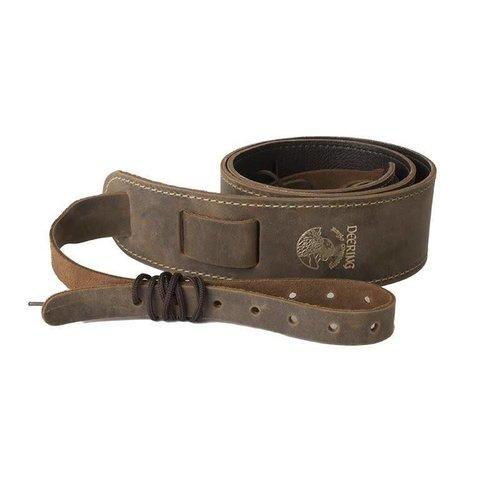 Deering Deering Banjo Stitched Leather Cradle Strap