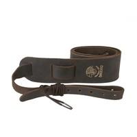 Deering Banjo Soft Leather Cradle Strap Chocolate Brown