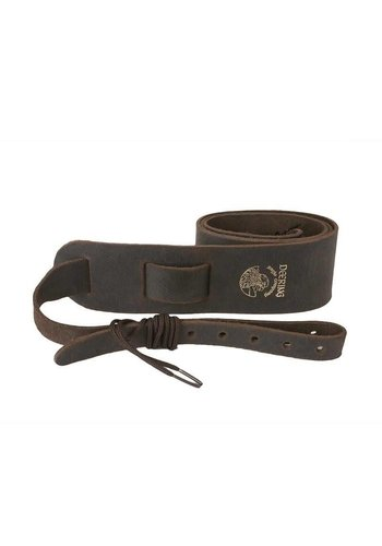 Deering Deering Banjo Soft Leather Cradle Strap Chocolate Brown