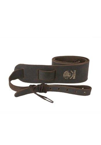Deering Deering Banjo Soft Leather Cradle Strap Chocolate Brown