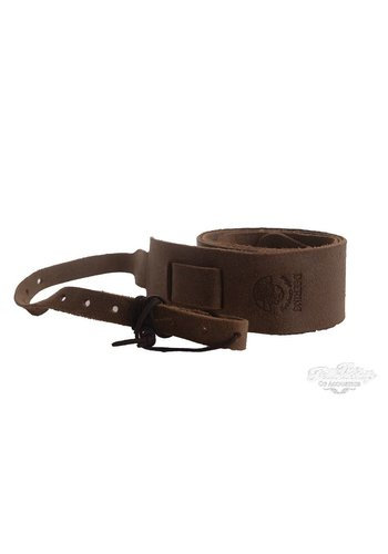 Deering Deering Banjo Soft Leather Cradle Strap Sueded Caramel Brown