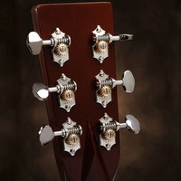 Waverly Guitar Tuners 4060 with Butterbean Knobs for Solid Pegheads