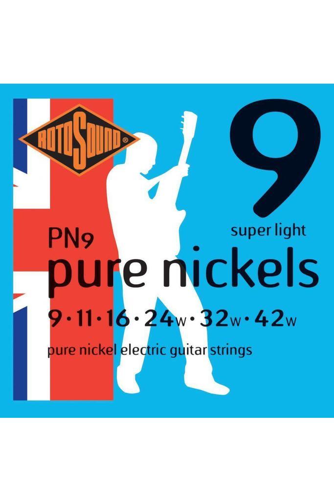 Rotosound PN-9 Pure Nickel 9-42
