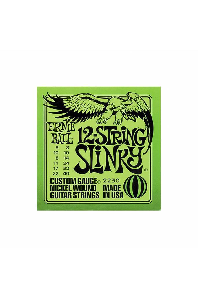 Ernie Ball 2230 12-string Slinky Nickel Wound Set (08 -40)