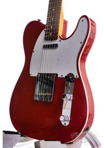 Fender Custom Fender Custom Shop 1960 Telecaster Custom Journey man Relic Dakota Red