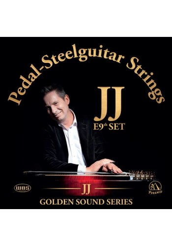 JJ JJ Golden Sound Series Pedal-Steelguitar Strings E9th set
