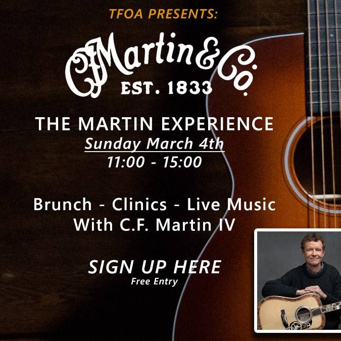 C.F. Martin IV at TFOA!  The Martin Experience
