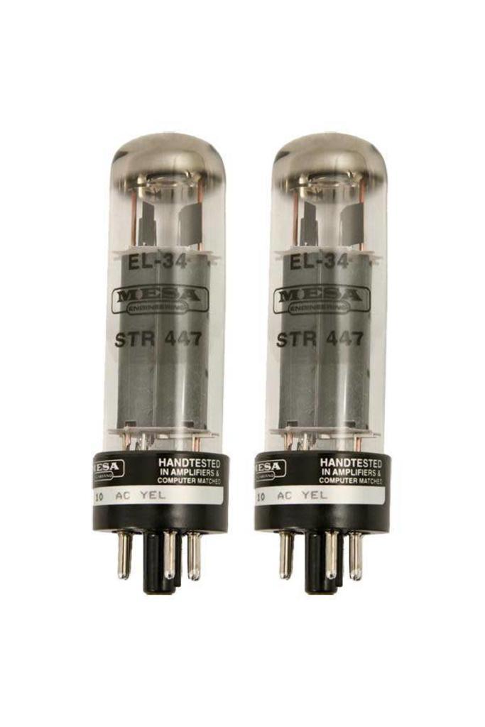 Mesa Boogie EL34 STR 447 Duet Tubes