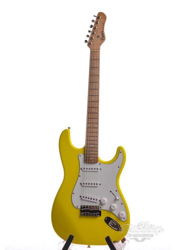 Haar Haar Trad-S 1980s Graffiti Yellow Roasted 5A Maple Suhr Pu's