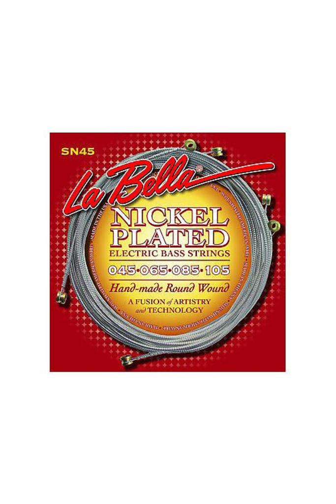 La Bella  SN45 Electric Bass Strings Nickel Plated Roundwound Light Longscale