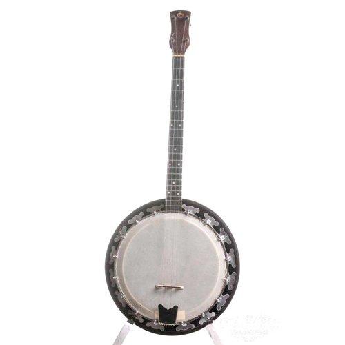 George Houghton & son George Houghton & Son Tenor Banjo 1950s