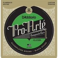 D'Addario EJ25B Pro Arte Black Nylon Composite Flamenco
