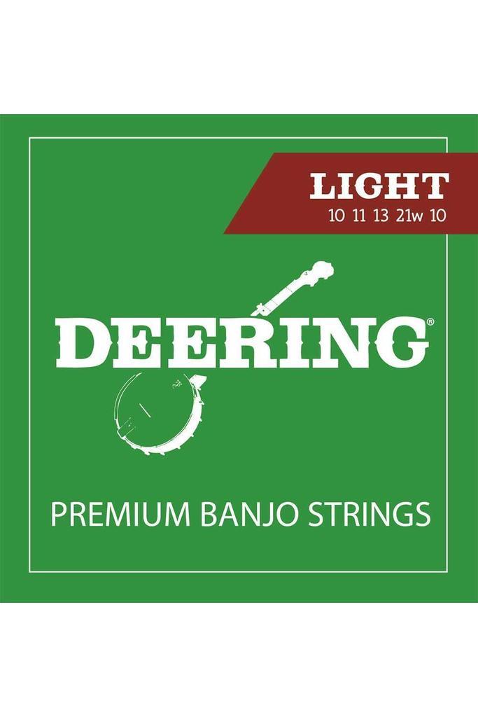 Deering Premium Banjo Strings Light