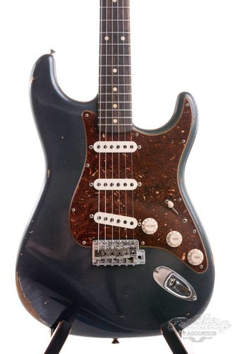 Fender Custom Fender 1960 Stratocaster relic Charcoal Frost Metallic 2017 Mint