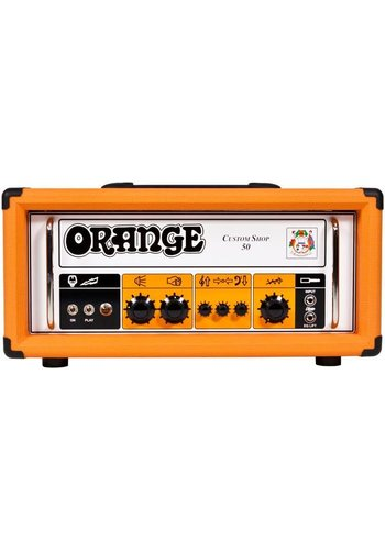 Orange Orange CS50H Custom Shop 50W Tube Amp Head 2018 B-Stock