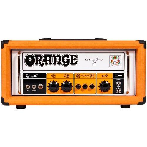 Orange Orange CS50H Custom Shop 50W Tube Amp Head 2018 B-Stock