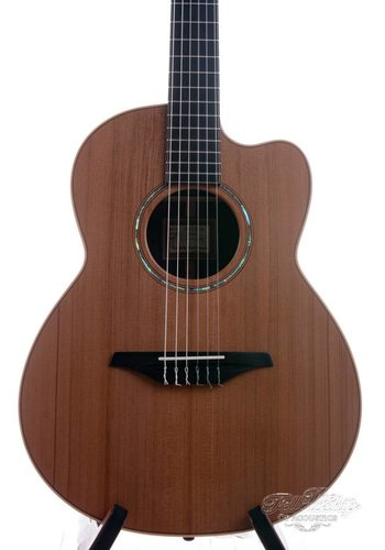 McIlroy McIlroy AS38cn Jazz Nylon Indian Rosewood Redwood