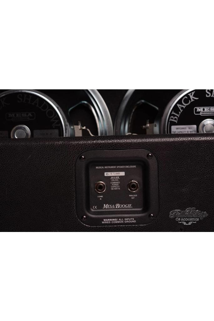 Mesa 2x12 Lone Star Cab Black Stingray - Jute - New Old Stock