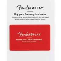 Fender Play 12 month card
