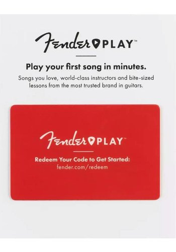 Fender Fender Play 6 Month Card