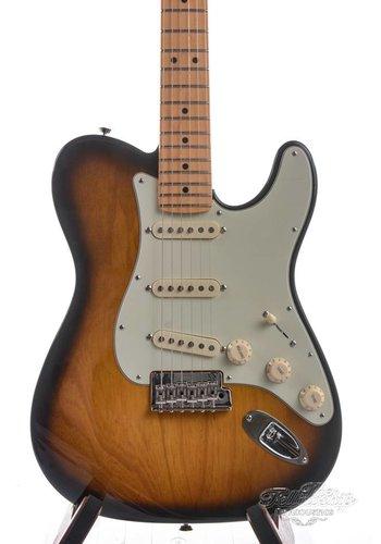 Fender Fender Parallel Universe Strat Tele Hybrid Maple Neck Two Tone Sunburst