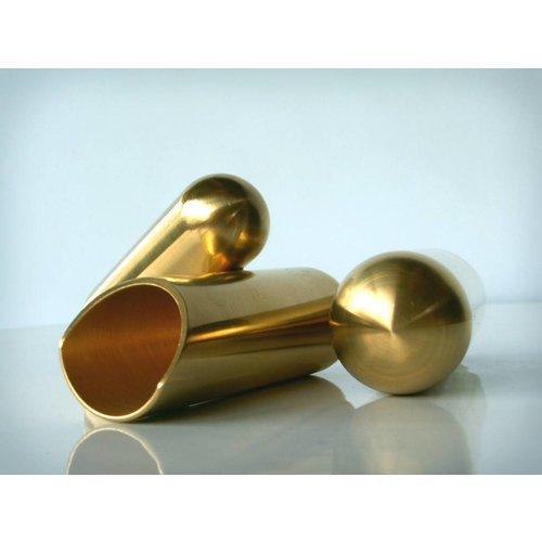The Rock Slide The Rock Slide Polished Brass Balltip Slide Size M