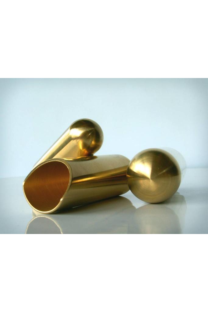 The Rock Slide Polished Brass Balltip Slide Size M