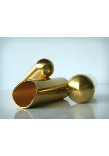 The Rock Slide The Rock Slide Polished Brass Balltip Slide Size L