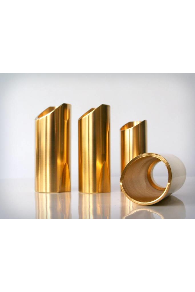 The Rock Slide Polished Brass Slide Size M