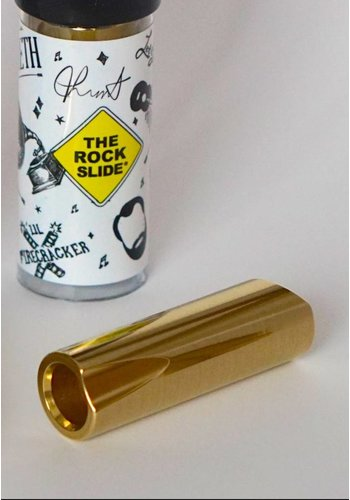 The Rock Slide The Rock Slide Polished Brass Joey Landreth Signature Slide